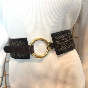 Statement Leather Belt